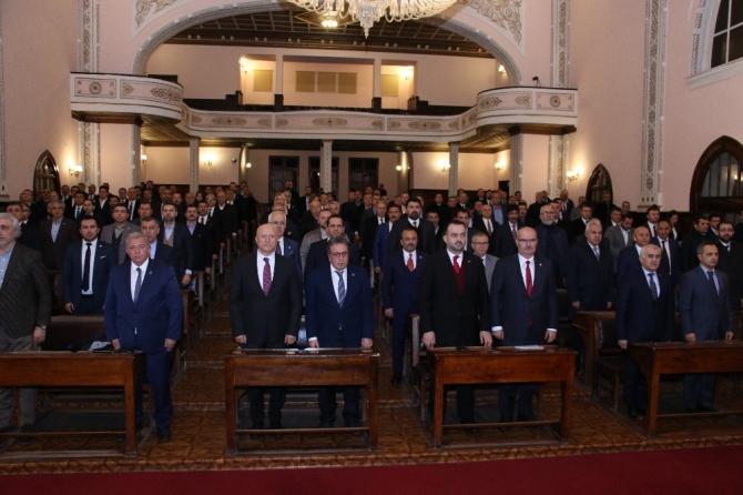 ATO, Atatürk'ün Ankara'ya gelişinin 100. yılı dolaysıyla 2. Meclis binasını ziyaret etti