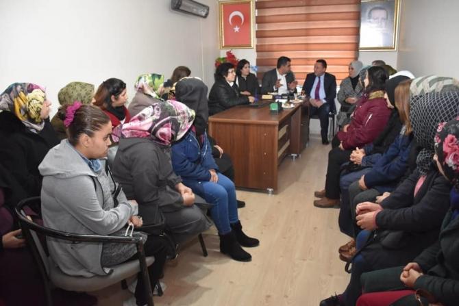 Başkan Beyoğlu'nden Ergani'ye ziyaret
