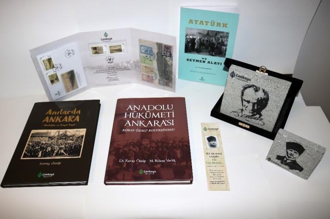 """Çankaya'dan 100. yıla özel """"Atatürk ve Ankara"""" portföyü"""