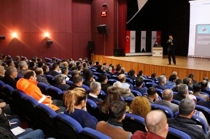 Elazığ'da belediye personeline EBYS eğitimi