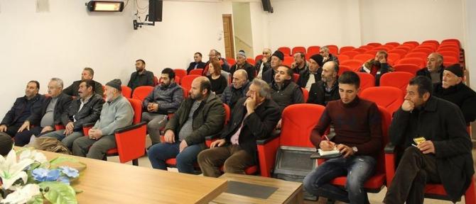 Erzincan'da besiciler buzağı ishalleri ve korunma yolları hususunda bilgilendirildi