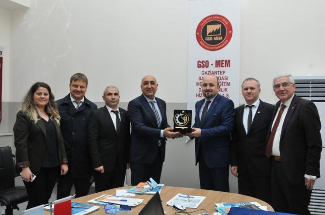 GSO ile Çerkezköy TSO'dan Ortak Komite toplantısı
