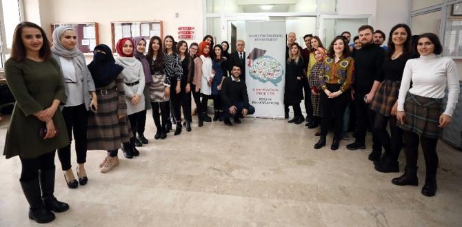 GAÜN Gıda Mühendisliği Bölümü son sınıf öğrenci proje pazarı
