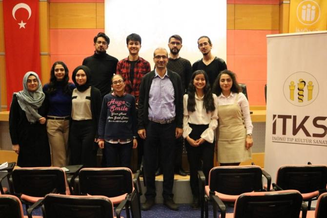 İnönü Üniversitesi'nde şiir severler bir araya geldi