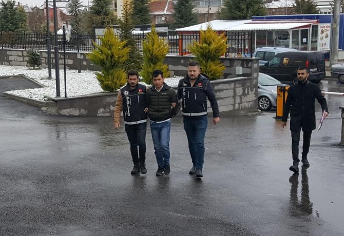 Karaman'da eroinle yakalanan yabancı uyruklu şahıs tutuklandı
