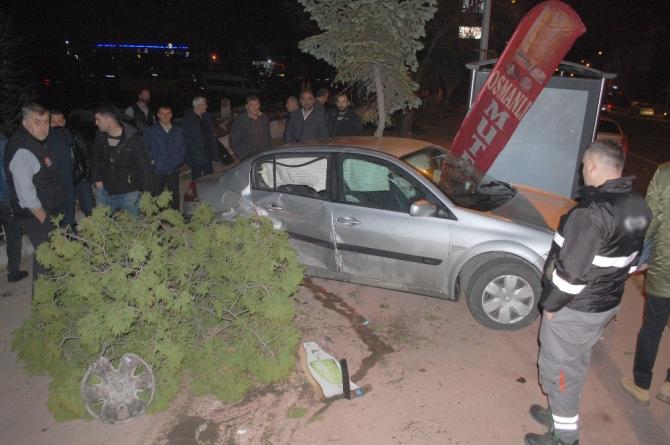 Malkara'da aynı saatte 2 ayrı kaza