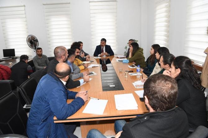 Muş Belediyesi, 2020 yılı yatırım projelerinin hazırlıklarına başladı