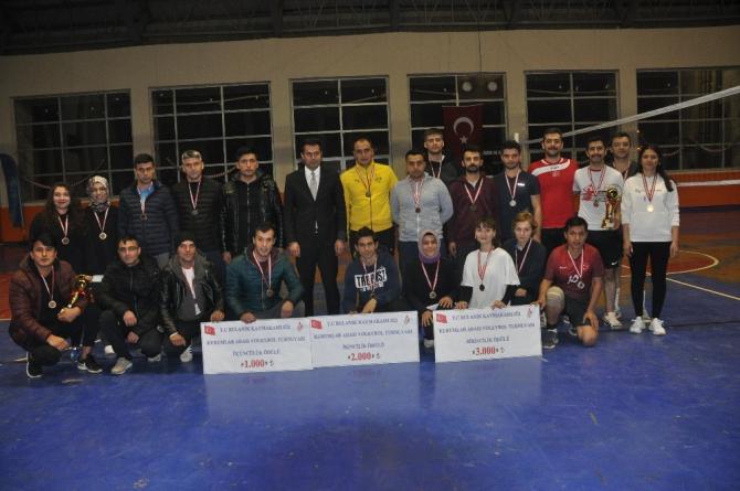 Bulanık'ta 'Kurumlar Arası Kaymakamlık Kupası Voleybol Turnuvası'