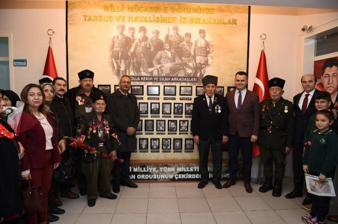 Tarsus'ta 'Kuvayi Milliye Köşesi' açıldı