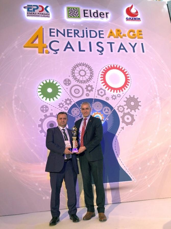 Bursagaz, Boru Hatları Bütünsellik Projesi ile 'Ar-Ge Başarı Ödülü'nü kazandı