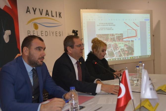Ayvalık Belediyesi 2020 yılı ilk meclis toplantısını gerçekleşti