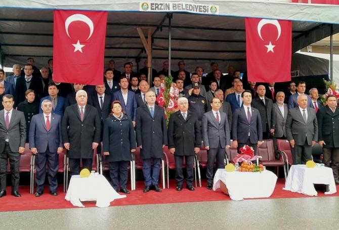 Erzin'in düşman işgalinden kurtuluşunun 98. yıldönümü kutlandı