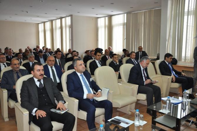 Kars'ta 2020 yılının ilk Koordinasyon Kurulu toplantısı yapıldı