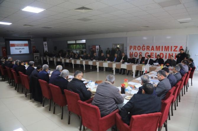 Planlama toplantılarının yenisi Viranşehir'de yapıldı