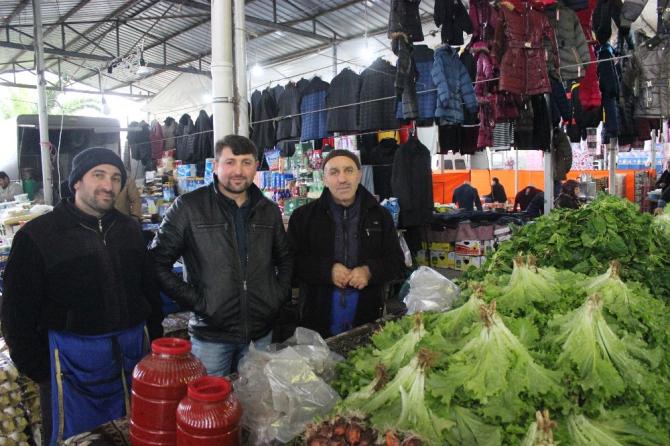 Pazar yerinde 'Antalya' etkisi