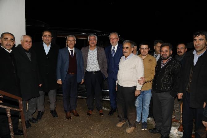 Milletvekili Kahtalı ve Başkan Güder vatandaşlarla buluştu