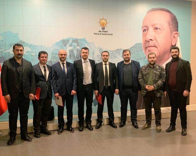 Tuşba, İpekyolu ve Edremit AK Parti İlçe başkanları belirlendi