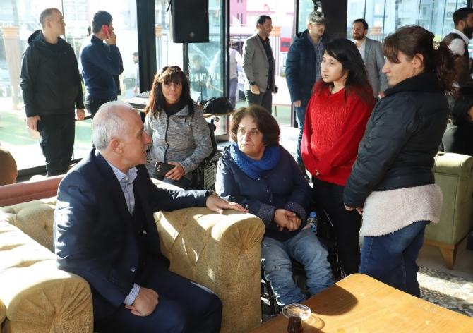 Başkan Gültak, engelli dernekleri ve STK temsilcileriyle buluştu