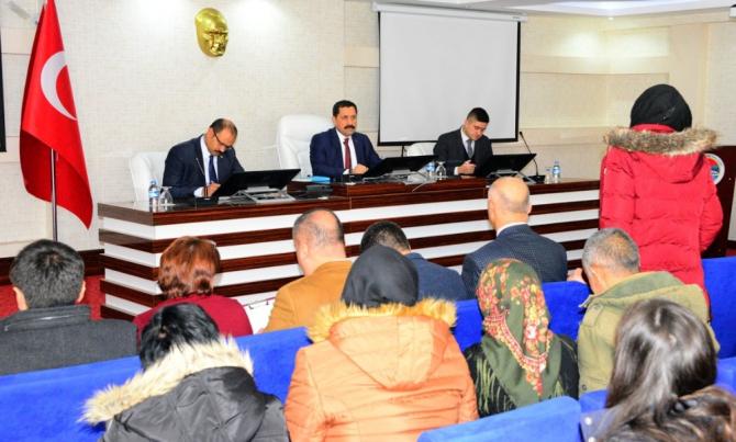 Vali Mustafa Masatlı, halk günü toplantılarını sürdürüyor