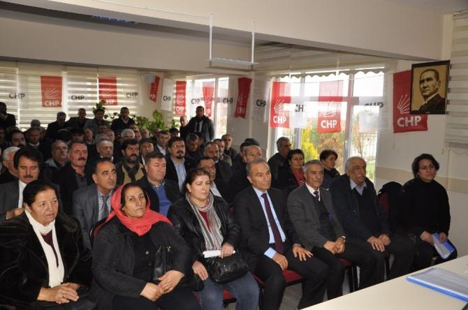 CHP Arguvan İlçe Başkanlığına Aslantürk seçildi