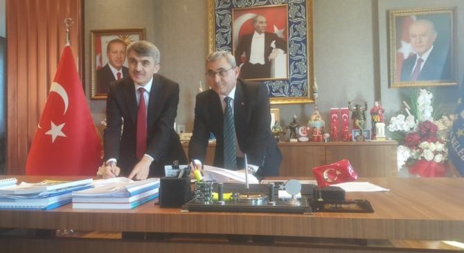 DPÜ üç kamu kuruluşuyla eğitim iş birliği protokolü imzaladı