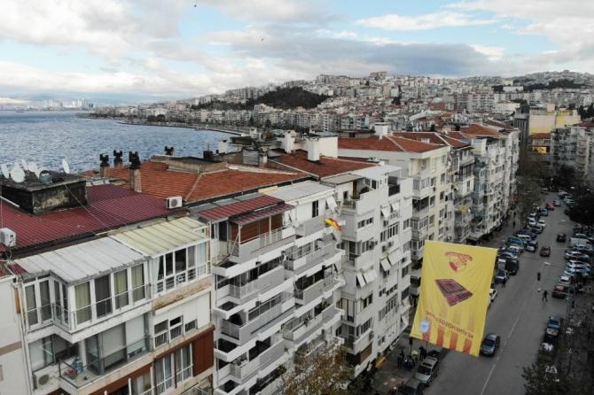 """Batur'dan Göztepe'ye """"Evine hoş geldin"""" desteği"""