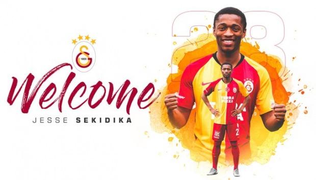 Galatasaray, Jesse Sekidika transferini KAP'a bildirdi!