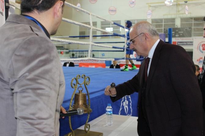 'Liseler Arası Türkiye Boks Şampiyonası' Erzurum'da başladı
