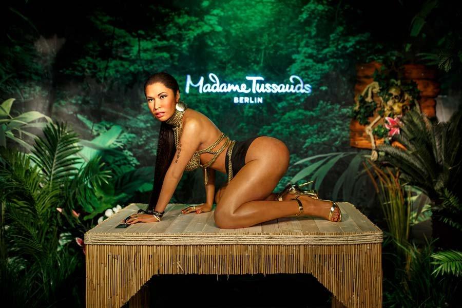 Nicki Minaj'ın balmumu heykeline tepkiler çığ gibi büyüdü