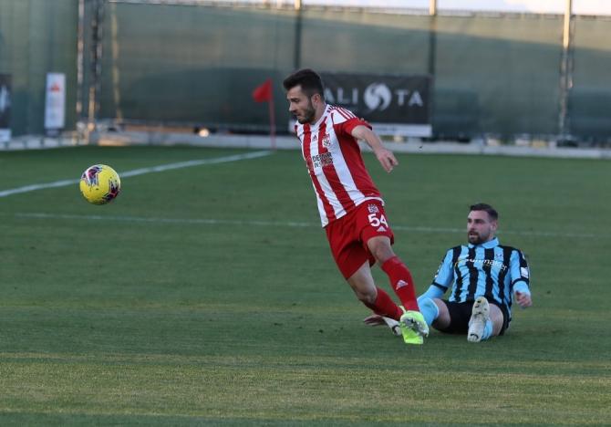 Hazırlık maçı: Sivasspor: 2 - Waldhof Mannheim: 2