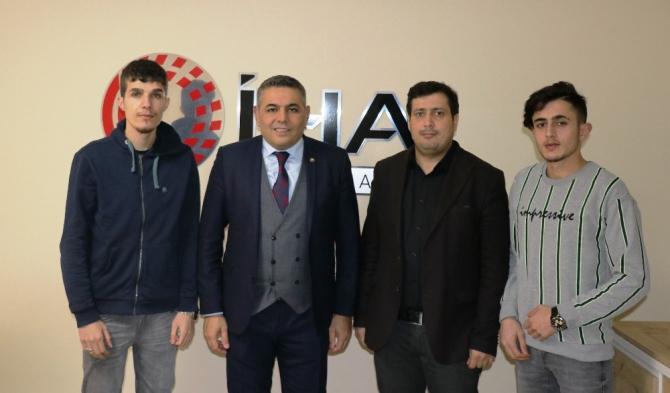 MTSO Başkanı Sadıkoğlu İHA'yı ziyaret etti