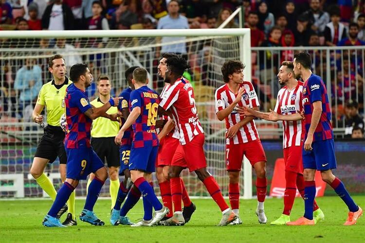 Barcelona - Atletico Madrid maç sonucu   Barcelona - Atletico Madrid maç özeti