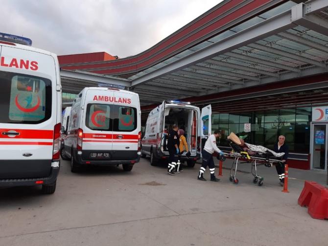 Ailelerin silahlı kavgasında 3 kişi yaralandı