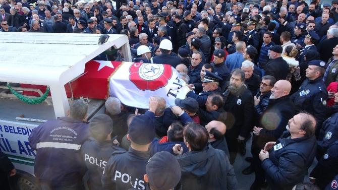 Antalya eski İl Emniyet Müdürü Canca son yolculuğuna uğurlandı