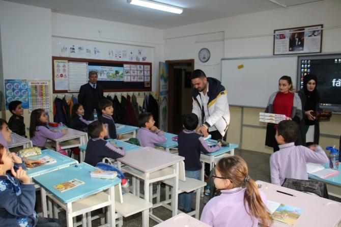 Üniversite öğrencilerinden köy okuluna 'zeka oyunları' projesi