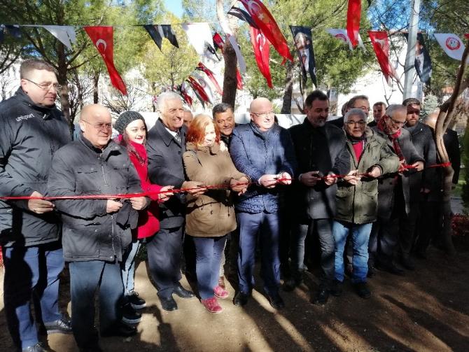 Basın Parkı, Gazeteciler Günü'nde açıldı