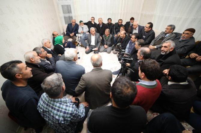 Başkan Güder, Alişar Mahallesi'nin sorunlarını dinledi