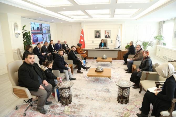 Belediye Başkanı Fatma Şahin halk buluşmasında