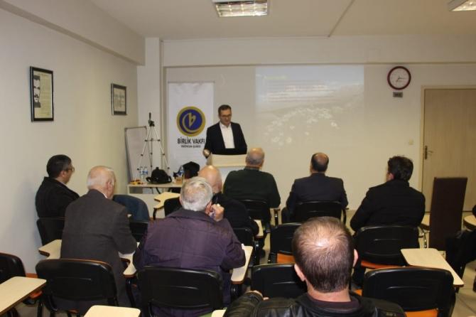Prof. Dr. Ali Kandemir, Erzincan ve çevresindeki endemik bitkileri anlattı