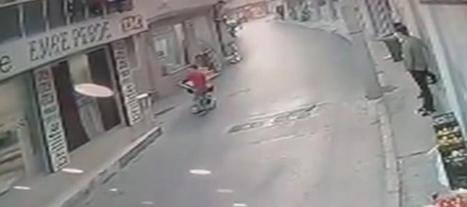 Bursa'da gencin dikkati faciayı önledi