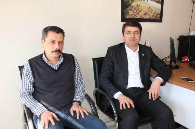 Milletvekili Tutdere'den İHA'ya ziyaret