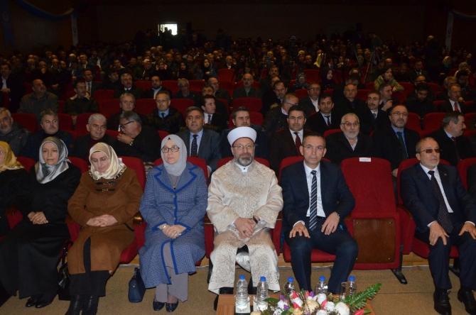 Diyanet İşleri Başkanı Erbaş'tan fakülteler için 'seçmeli ders' önerisi
