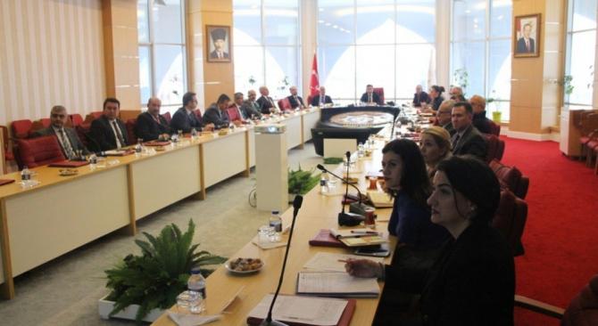 DPÜ'de Kalite Danışma Kurulu toplantısı