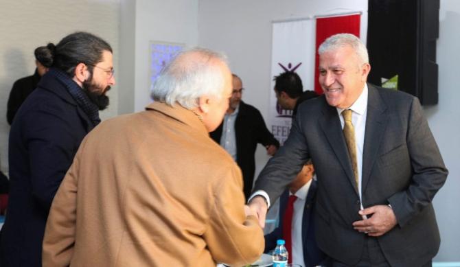 Başkan Atay basın emekçileri ile bir araya geldi