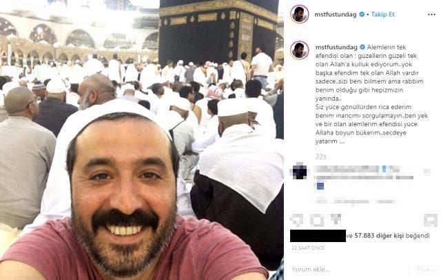Mustafa Üstündağ manevi huzuru kutsal topraklarda buldu