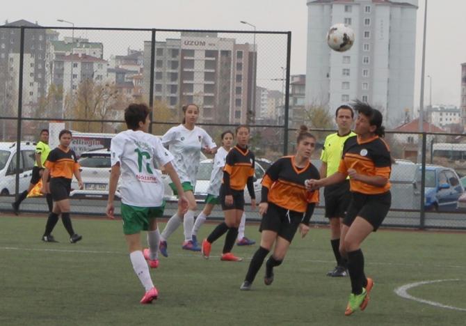 Kadınlar Üçüncü Lig'de Kayseri haftası