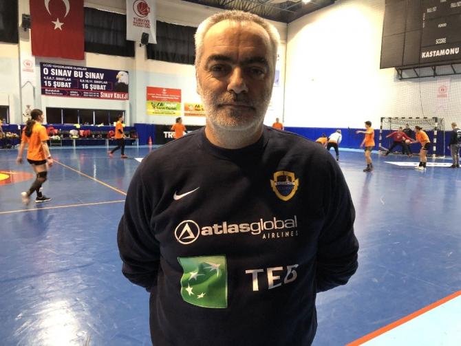 Kastamonu Belediyespor, Thüringer maçı hazırlıklarını tamamladı