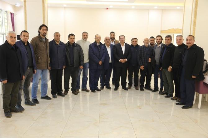 Başkan Bulut Gazeteciler ile bir araya geldi