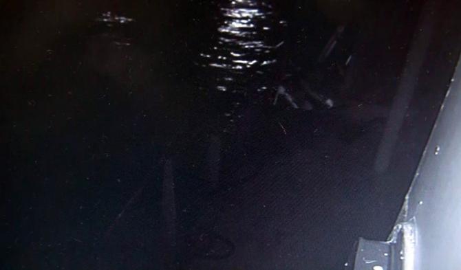 Kilyos'ta 3 kişinin kurtarıldığı o anlar kamerada