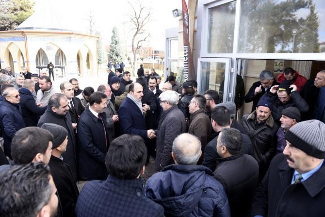 Başkan Altay, Karayolları Camisi'nde vatandaşlarla buluştu